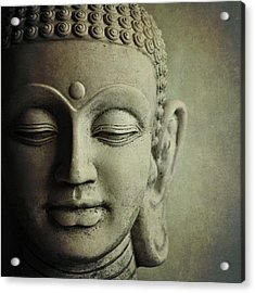 Buddha Acrylic Print by Photo - Lyn Randle
