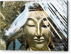 Acrylic Print featuring the photograph Buddha Protected by Dean Harte