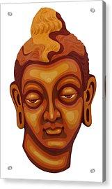 Buddha - Relief-1 Acrylic Print