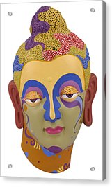 Buddha - Relief-2 Acrylic Print