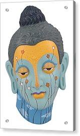 Buddha - Relief-3 Acrylic Print