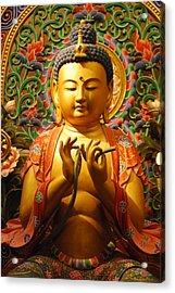 Buddha Acrylic Print by Susette Lacsina