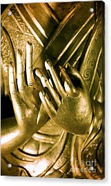 Buddhas Hands Acrylic Print by Ray Laskowitz - Printscapes