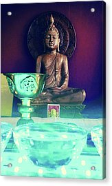 Buddhism Acrylic Print by Contemporary Art