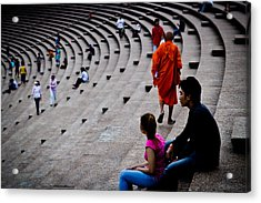 Buddhist Acrylic Print