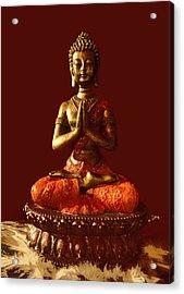 Buddhist Statue  Acrylic Print