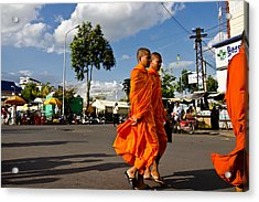 Buddhists Acrylic Print