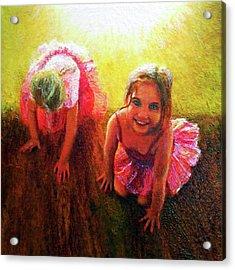 Budding Ballerinas Acrylic Print by Michael Durst