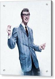 Buddy Holly, Music Legend Acrylic Print