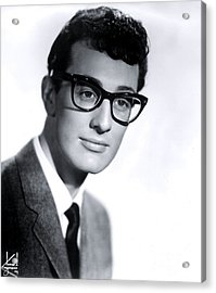 Buddy Holly Acrylic Print by The Titanic Project