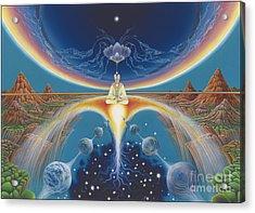 Budhistic Dreams Acrylic Print
