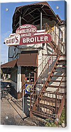 Bud's Broiler New Orleans Acrylic Print by Kathleen K Parker