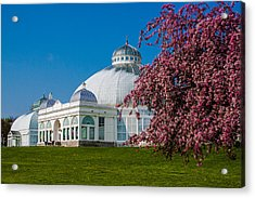 Acrylic Print featuring the photograph Buffalo Botanical Gardens North Lawns by Don Nieman