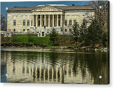 Acrylic Print featuring the photograph Buffalo Historical Society And Library by Don Nieman
