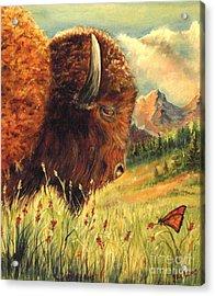 Buffalo Home Acrylic Print