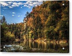Buffalo National River Acrylic Print by James Barber