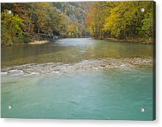 Buffalo River - 4589 Acrylic Print