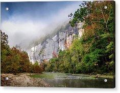 Buffalo River Autumn Acrylic Print by James Barber