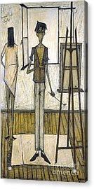 Buffet: Artist, 1948 Acrylic Print by Granger