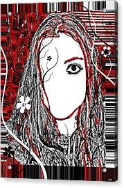 Bug Eye Acrylic Print by Holly Ethan