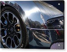 Bugatti Front Acrylic Print by Michael Albright