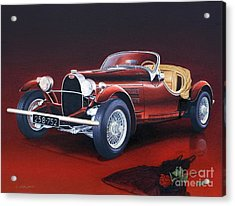 Bugatti. Italian Exotic Car Acrylic Print