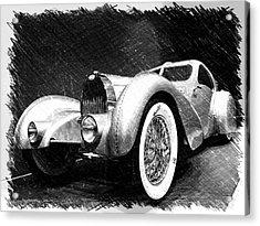 Bugatti Type 57 Aerolithe Acrylic Print