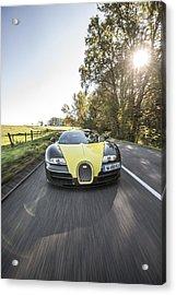 Bugatti Veyron Supersport Acrylic Print