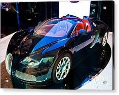 Bugatti Veyron Targa Acrylic Print