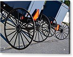 Buggy Parking Lot Acrylic Print