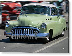 Buick 8 At Speed Acrylic Print by Bill Dutting
