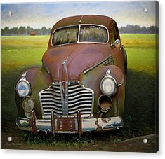 Buick Eight Acrylic Print by Doug Strickland