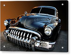 Buick Eight Sled Acrylic Print by Bill Dutting