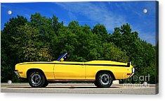 Buick Gsx Acrylic Print by Robert Pearson