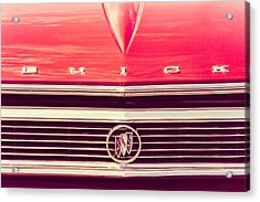 Acrylic Print featuring the photograph Buick Retro by Caitlyn Grasso