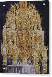 Builders' Guild Acrylic Print