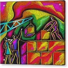 Building Blocks Of Success Acrylic Print