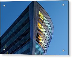 Building Floating In The Sky Acrylic Print