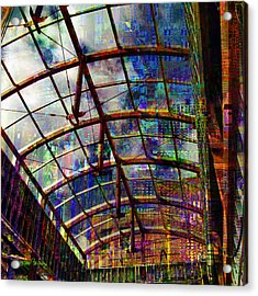 Building For The Future Acrylic Print