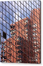 Building Reflection Acrylic Print