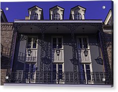 Building Shadows French Quarter Acrylic Print by Garry Gay