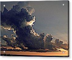 Building Storm Clouds Acrylic Print