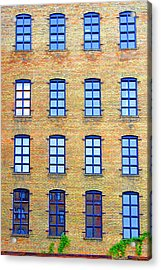Building Windows Acrylic Print