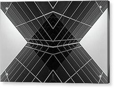 Building X Acrylic Print