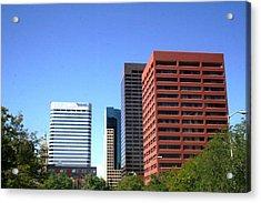 Buildings Of Grace Acrylic Print by Paul SEQUENCE Ferguson             sequence dot net
