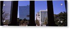 Buildings Viewed From South Carolina Acrylic Print by Panoramic Images