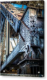 Built By U.s. Steel Acrylic Print by Carlos Ruiz