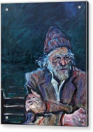 Bukowski Acrylic Print