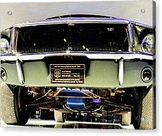 Bulitt Front View Acrylic Print
