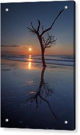Bull Island Sunrise Acrylic Print